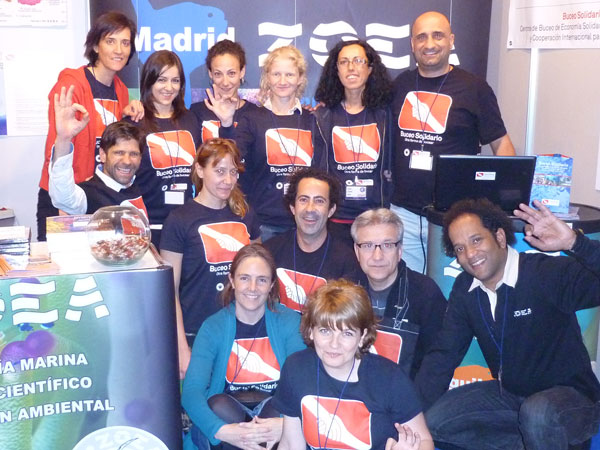 SoliDive in Madrid Dive Travel Show 2011, a huge success!