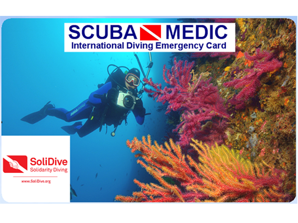 New Solidarity Scuba Diving Insurance (SoliDive-ScubaMedic)