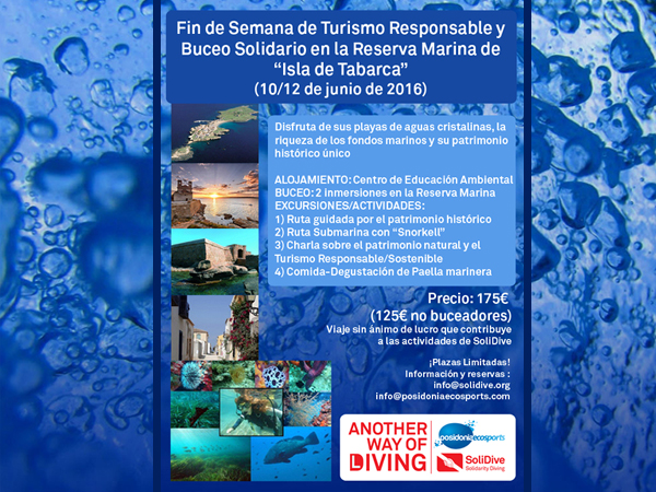 Responsable Tourism and Solidarity Diving Weekend in the