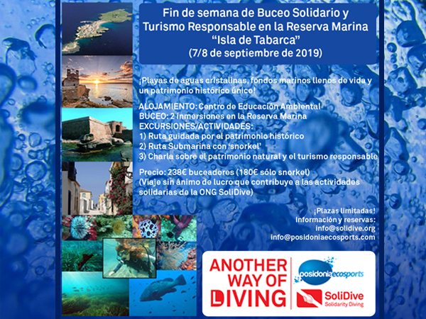 Solidarity Diving and Responsable Tourism Weekend in the